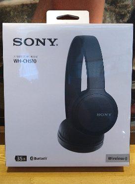 SONYから発売されたWH-CH510の評価は、コスパ良すぎ!音質も最高級。